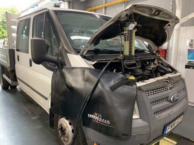 Ford Transit részecskeszűrő tisztítás