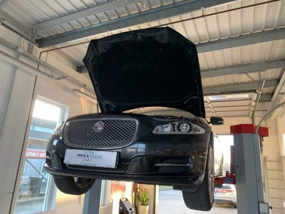 Jaguar részecskeszűrő tisztítás