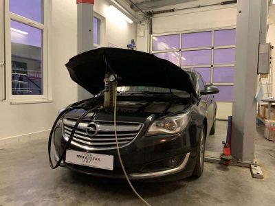 Opel Insignia részecskeszűrő tisztítás
