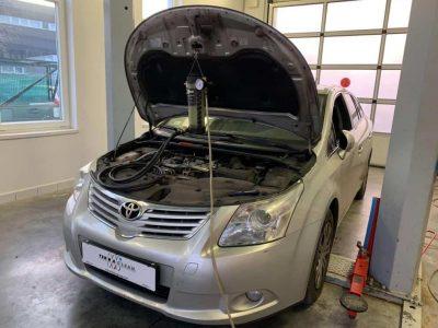 Toyota Avensis 2.2 részecskeszűrő tisztítás