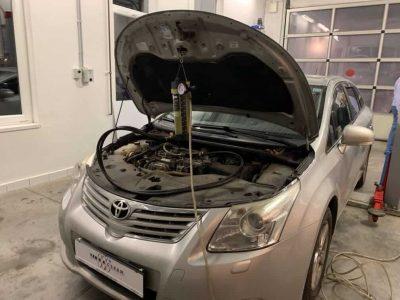 Toyota Avensis részecskeszűrő tisztítás