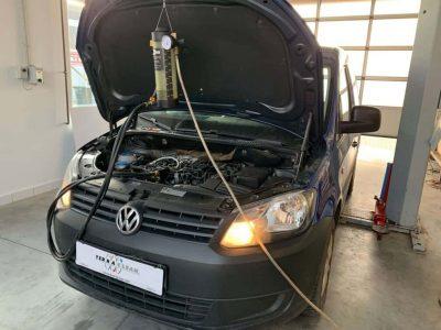 VV Caddy részecskeszűrő tisztítás