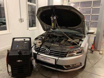 Volkswagen Passat részecskeszűrő tisztítás