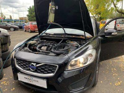 Volvo C30 részecskeszűrő tisztítás
